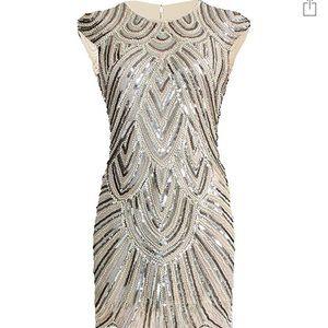 Georgeous 1920's flapper dress (L)